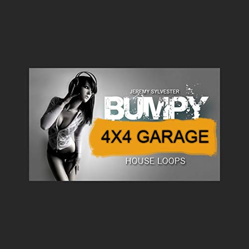 Bumpy 4x4 House Loops - High Quality Drum Loops for UKG, 4x4 and Underground House Music Production | DVD non Box