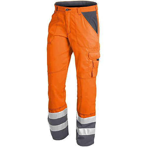 Kübler 21098311-3797-27 broek Psa Inno Plus maat 27 in warm oranje/antraciet