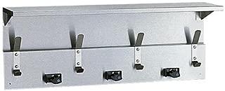 Bobrick B-239 Utility Shelf with Mop & Broom Holder