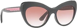 d7aae99bbd96 Dolce & Gabbana DG6110 Sunglasses Grey w/Pink Gradient Lens 52mm 31238D DG  6110