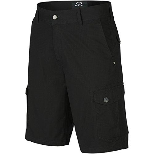 Oakley Herren Shorts Foundation Cargo, Jet Black, 28