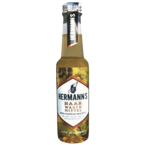 Hermanns Biershampoo aus Bierflasche | Haarwaschmittel für Bier-Fans | Haarshampoo für Männer | 250ml
