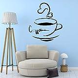 Café papel tapiz de vinilo desplazamiento muebles decoración vinilo adhesivo decoración del hogar papel pintado |adhesivos de pared58 x 60 cm