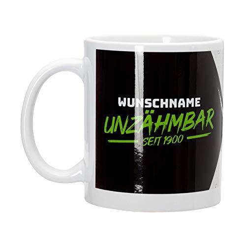 Borussia Mönchengladbach Tasse *Unzähmbar* personalisierbar
