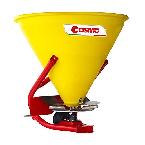 Esparcidor de abono Cosmo PL 400 ideal para fertilizaciones granulares o cristalinas