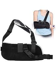 Cabestrillo transpirable, inmovilizador de hombros y brazos, apoyo para brazo y muñeca, inmovilizador ajustable para roturas, luxaciones, esguinces, distensiones y fracturas