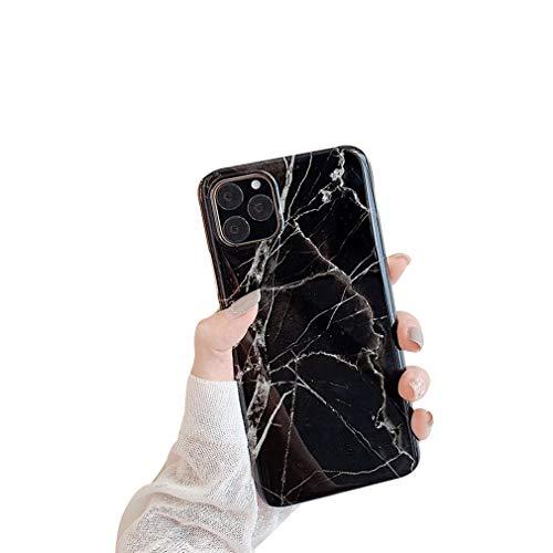 Coque iPhone 11 Pro Max Silicone Jade de marbre Silicone TPU Mode Souple Case Ultra-Mince Ultra Fin Ultra Léger,Anti-Choc,Anti-Rayures,Etui pour iPhone 11 /iPhone Pro (iphone 11 Pro Max, 06)
