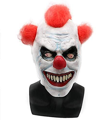 Halloween Masken Lustig - Clown LatexMask - für Halloween Kostüm Cosplay Party