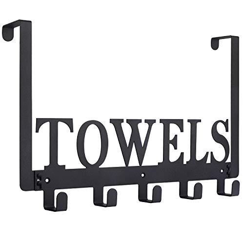 Over The Door Hooks, Towel Holder for Bathroom