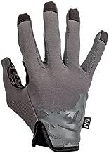 PIG Full Dexterity Tactical (FDT) - Delta Utility Gloves (Carbon Grey, Large)