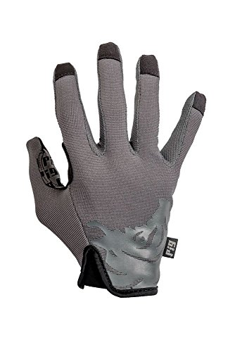 PIG Full Dexterity Tactical (FDT) - Delta Utility Gloves (Carbon Grey, Large)