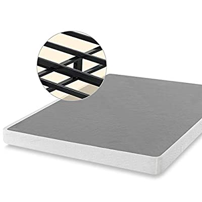 ZINUS 5 Inch Smart Metal Box Spring / Mattress Foundation / Strong Metal Frame / Easy Assembly, Queen