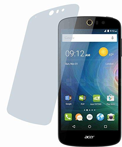 4ProTec I 2X Crystal Clear klar Schutzfolie für Acer Liquid Z630 / Z630S Premium Bildschirmschutzfolie Displayschutzfolie Schutzhülle Bildschirmschutz Bildschirmfolie Folie