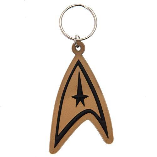 Star Trek Schlüsselanhänger aus Gummi (Insignia)