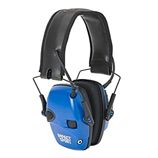Howard Leight by Honeywell Impact Sport Sound Amplification Electronic Shooting Earmuff, Real Blue (B071JB9HFF)   Amazon price tracker / tracking, Amazon price history charts, Amazon price watches, Amazon price drop alerts