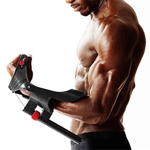 GYFHMY Entwickler von Unterarm- und Handgelenksverstärkern - Trainingsgerät mit verstellbarem Griff und Arm, Bizeps, Trizeps-Muskeltraining für zu Hause, Fitnesstraining