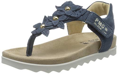 PRIMIGI Damen Sandalo Bambina T-Spangen Sandalen, Blau (Azzurro 5388211), 38 EU