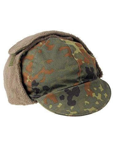 Militär a Bonnet d'hiver armée allemande camouflage d'occasion Taille 60