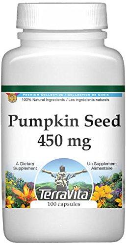 Pumpkin Seed - 450 mg (100 Capsules, ZIN: 510831) - 2 Pack