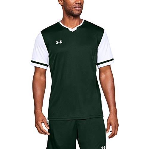 Under Armour Maquina 2.0 Jersey, Forest Green (301)/White, XX-Large