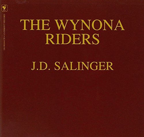 The Wynona Riders JD Salinger - novo lacrado original