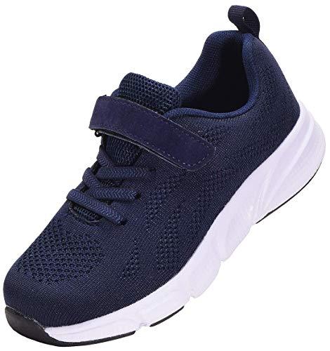 KVbabby Turnschuhe Kinder Sport Schuhe Outdoor Laufschuhe Jungen Mädchen Atmungsaktiv Sneaker Leichtgewicht 28 EU = Etikette 29