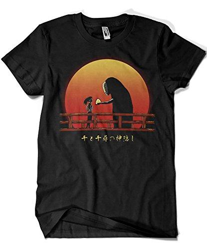 Camisetas La Colmena 1424-Camiseta Chihiro On Sunset (DDdjvigo)