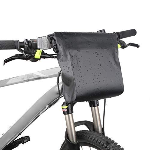 Bicycle Frame Bag Waterproof Bicycle Saddle Bag, Portable High Capacity Handlebar Pocket Bag, Suitable for Road And Mountain Folding Bikes
