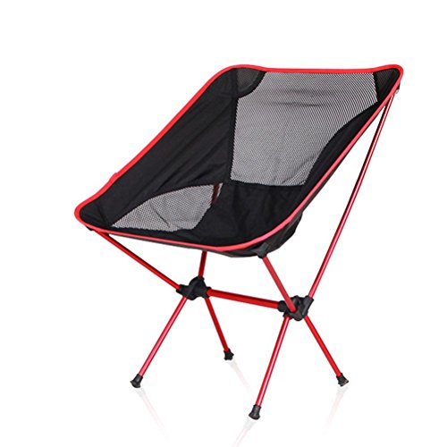 HRRH Leichter Klappstuhl Sitz für Outdoor Angeln Camping Freizeit Picknick Strandkorb Andere Angeln Werkzeuge Freizeit Stuhl Tragfähig: 150kg, B