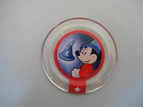 DISNEY INFINITY POWER DISCS 1.0 Wave 1,2,3 & RARES, works with 2.0 & 3.0#1 Mickey's Sorcerer Hat