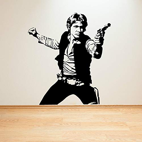yaonuli Verwijderbare cowboy pistool schieten behang muurschildering sticker woonkamer slaapkamer muur decoratie