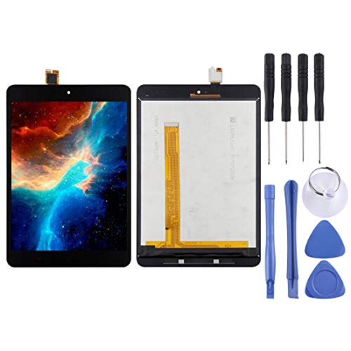 Dmtrab Pantalla LCD de la Pantalla LCD de Repuesto y digitalizador Asamblea Completa for Xiaomi Mi Pad 3 (Negro) Pantalla LCD (Color : Black)