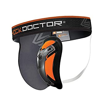 Shock Doctor Men s Ultra Pro Supporter with Ultra Cup Grey Large