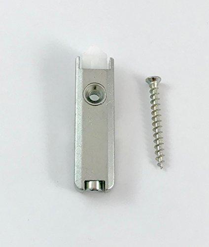MACO MT Türschnapper für Holz/PVC, silber (52502)