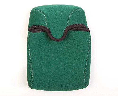 OP/TECH USA Bino Roof Soft Pouch - Padded Binocular Case, Small (Forest)