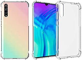 Huawei Y8p & Huawei Enjoy 10s Case Cover Protective Shock Absorption Bumper Soft Transparent Case for Huawei Y8p & Huawei ...