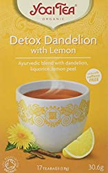 Organic, Caffeine free, Herbal Tea Ayurvedic blend with dandelion, liquorice, lemon peel A carefully selected blend with a boost of fruity lemon A healthy alternative with a delicious taste 17 bags individually wrapped teabags