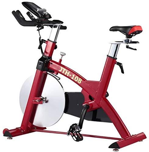 Lcyy-Bike Addestratori per Bicicletta Manuale Regolabile Resistenza 25 kg Volano Cardio Workout con Display Multifunzionale Built-in Mini Gioco & Portatablet Regolabile Manubrio E Altezza del Sedile