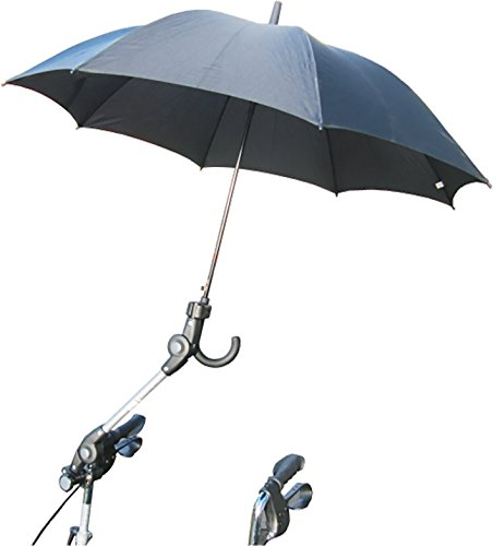 Regenschirmhalterung für Rollator ohne Schirm