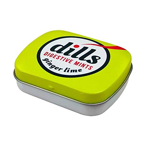 宝商事 dills (ディルズ) ハーブ ミントタブレット ジンジャーライム 缶入り 15g×12個