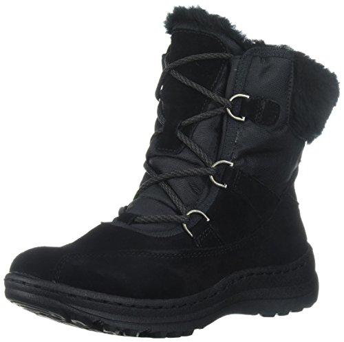 BareTraps Women's Aero Snow Boot, Black, 5.5 M US
