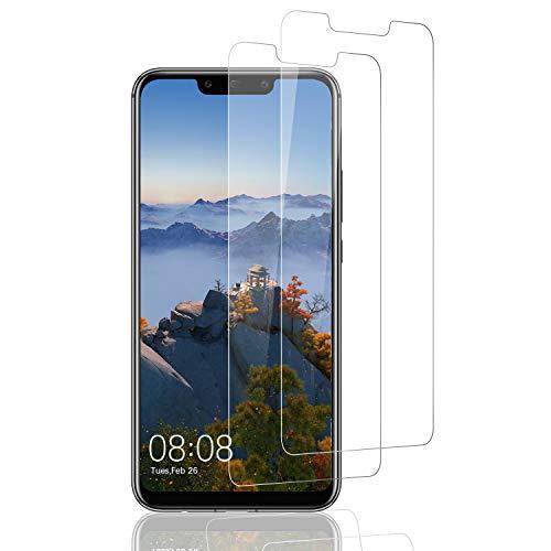 DOSMUNG Protector de Pantalla para Huawei Mate 20 Lite, [2 Pack] Cristal Templado para Huawei Mate 20 Lite, Alta Definicion/9H Dureza/Anti Arañazos/Sin Burbujas Vidrio Templado Película