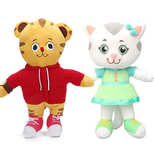 12pc EMS 30cm Katerina Kittycat Miss Elaina Prince Wednesday Plush Toys Daniel Tiger's Neighborhood Soft Stuffed Animal Dolls