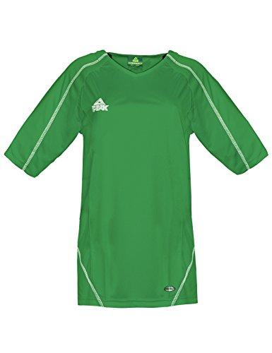 Peak Sport Europe di Riscaldamento e Corsa Shooting Energy Shirt, Unisex, Aufwärm und Lauf Shooting Energy Shirt, Verde, XL
