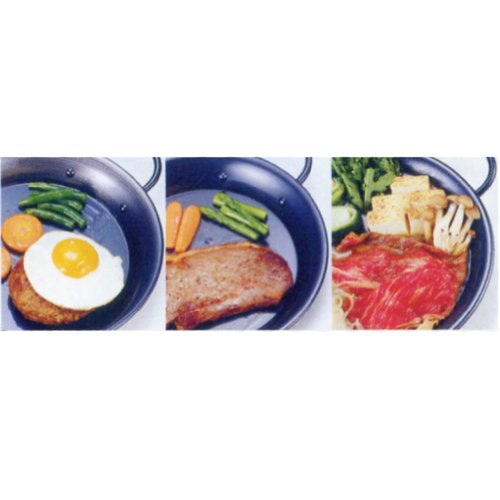 AG鉄黒皮パエリア鍋(両手)30cm913030