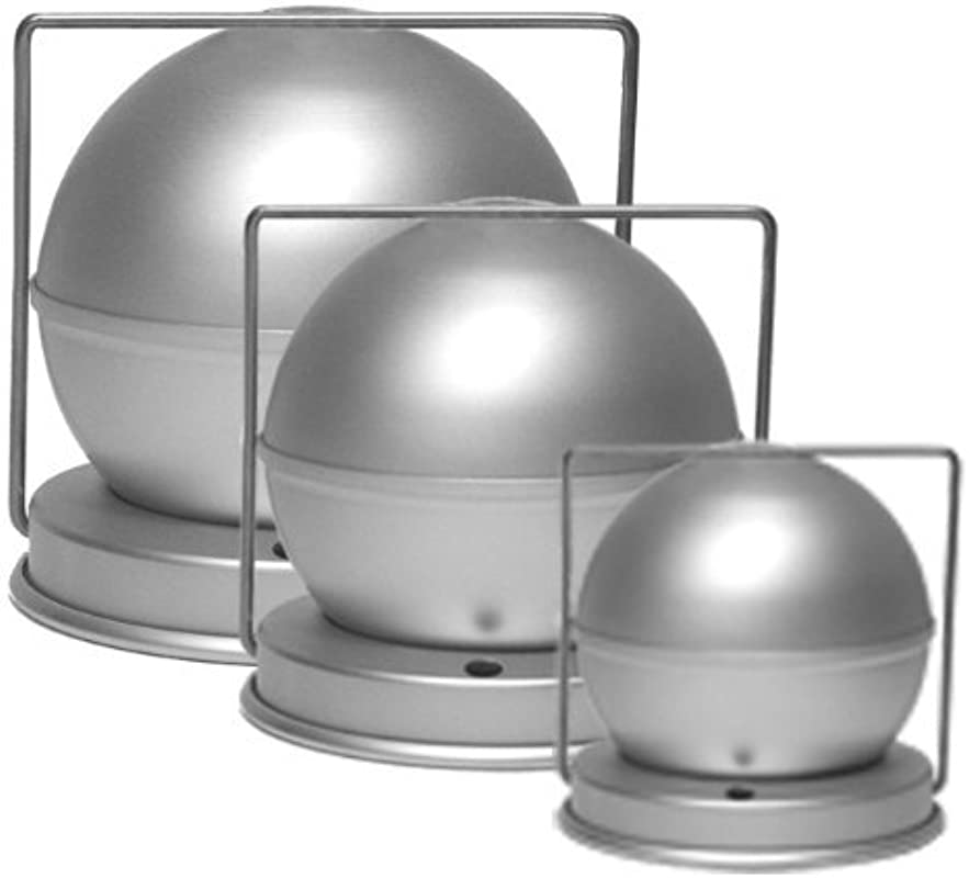 Alan Silverwood 4 Spherical Ball Pudding Mould Mold 50742