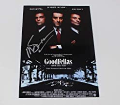 Goodfellas Martin Scorsese Signed Autographed 8x10 Glossy Poster Photo Loa