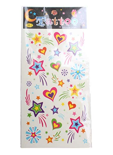 LG-Imports tattoovel Hearts junior 17 x 8 cm Papier