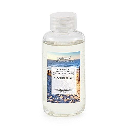 pajoma Raumduft Nachfüllflasche 100ml Duftöl für Diffuser Duft wählbar (Hampton Breeze)