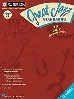 Great Jazz Standards (Jazz Play Along Series Volume 27)